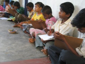View of Shanti Children Project Tuition Center